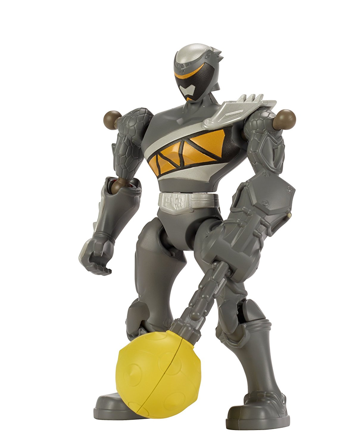 - Mixx N Morph Dino Charge Graphite Ranger Action Figure, Take down evil monsters with the... by