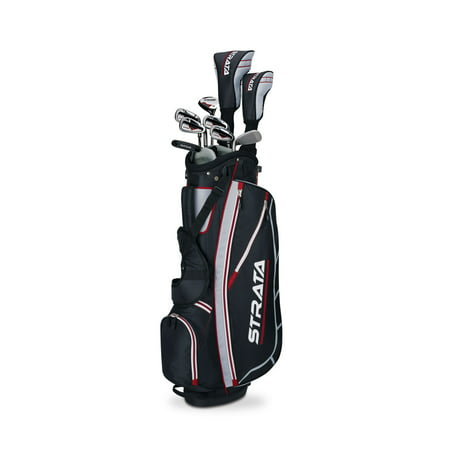 Callaway Men's Strata Complete 12-Piece Golf Club Set with Bag, Right