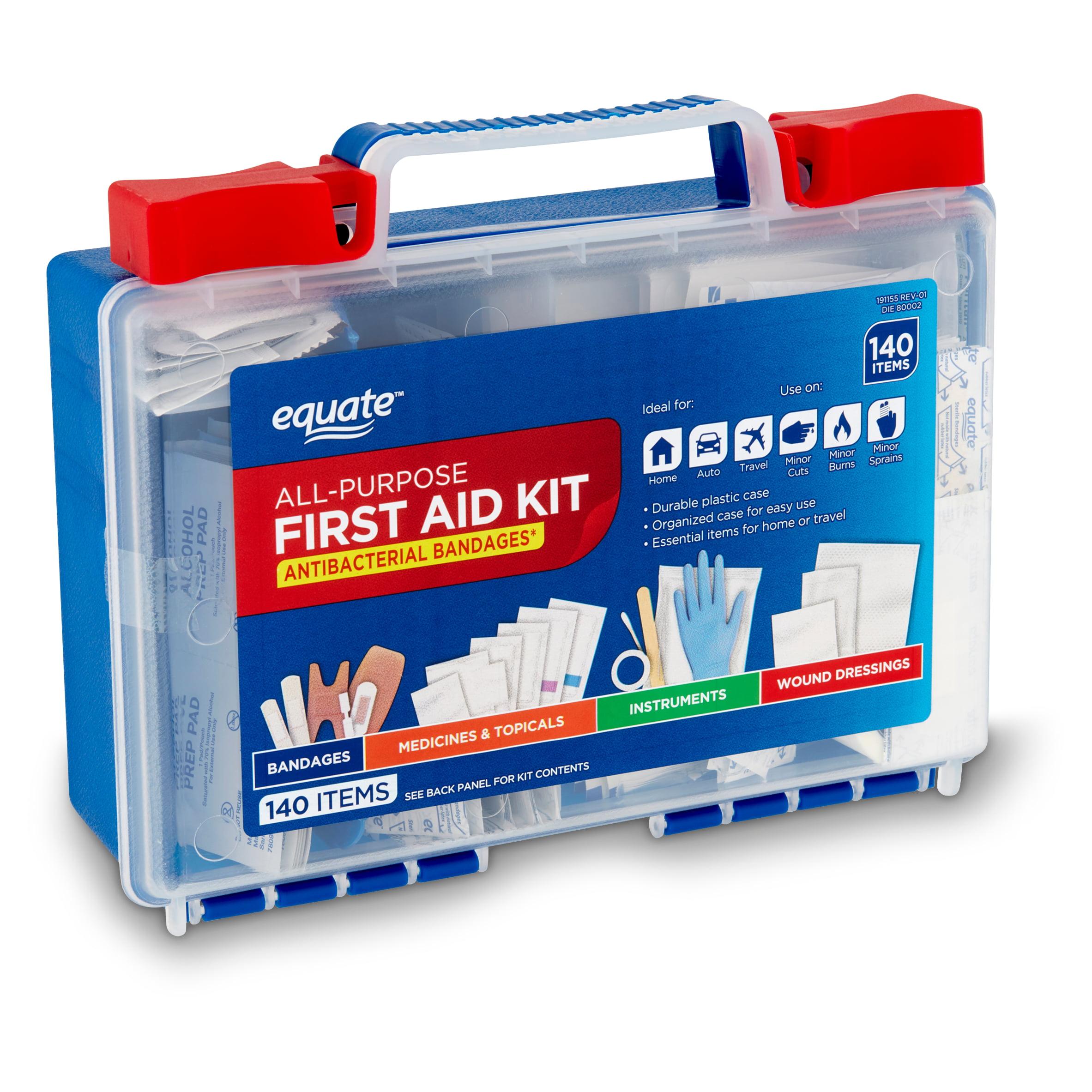 Equate All Purpose First Aid Kit Walmart Com Walmart Com