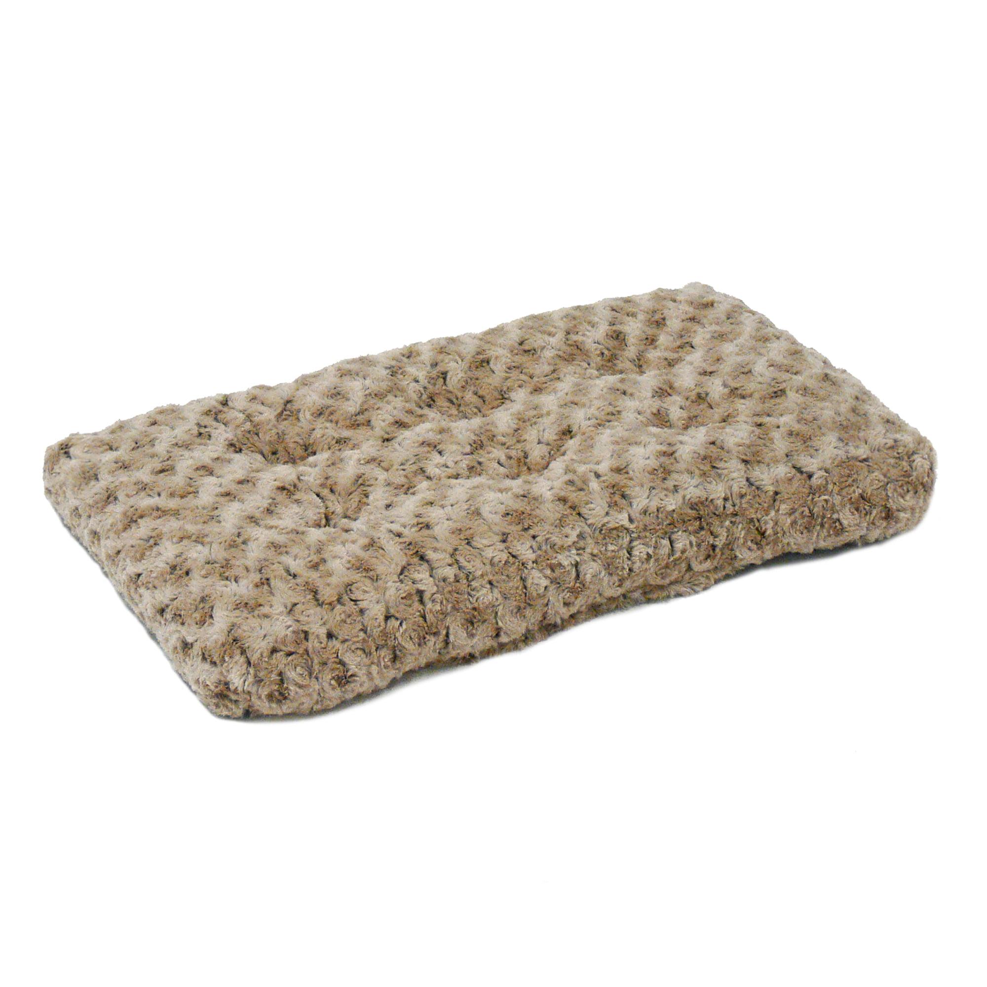 """Midwest Ombre Mocha Swirl Fur Pet Bed 18"""""""