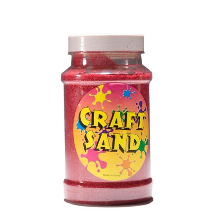 Red Craft Sand - Sand Crafts