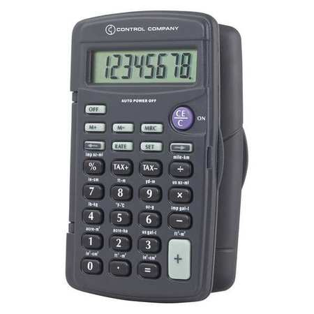 4-1/4 Portable Calculator, Control Company, 1001