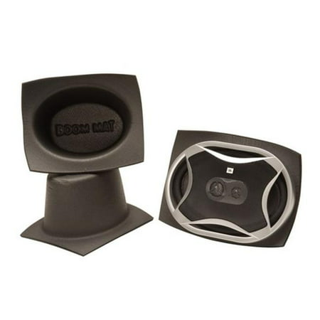 DEI 050360 5 x 7 in. Oval Boom Mat Pair Speaker Baffles - image 4 de 4
