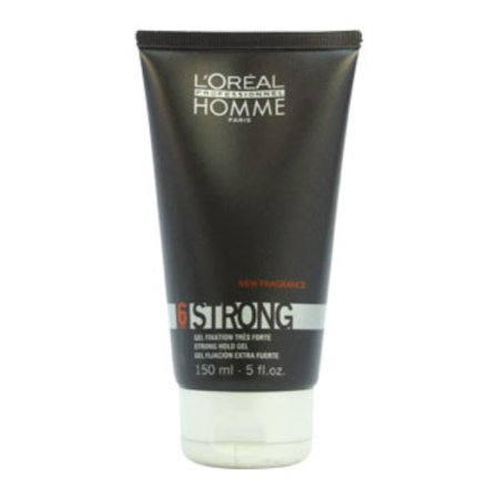 Homme Strong Force 6 Strong Hold Gel by L'Oreal Professional for Unisex - 5 oz Gel - image 1 of 3