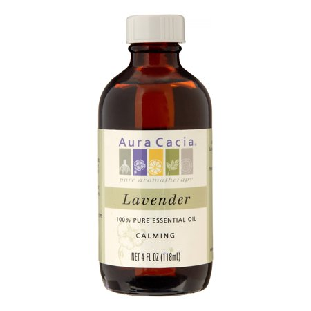 Aura Cacia 100% Pure Essential Oil, Lavender, 4 Oz (Aura Cacia Lavender Essential Oil)