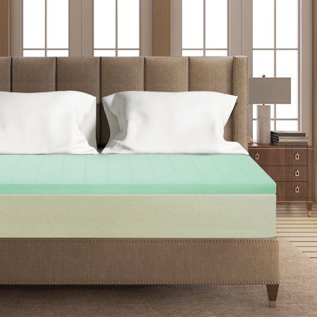 Best Price Mattress 2 Inch Green Tea Memory Foam Mattress Topper