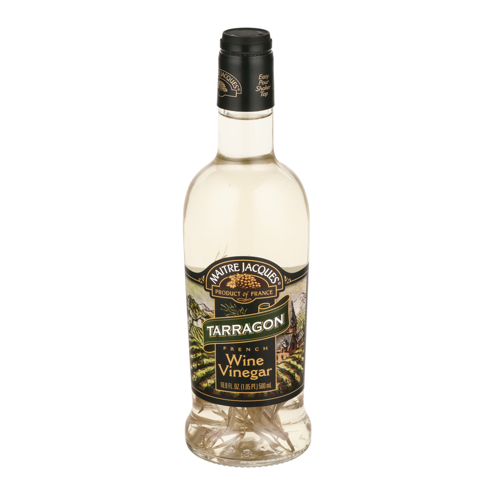 Maitre Jacques French Wine Vinegar Tarragon, 16.9 OZ