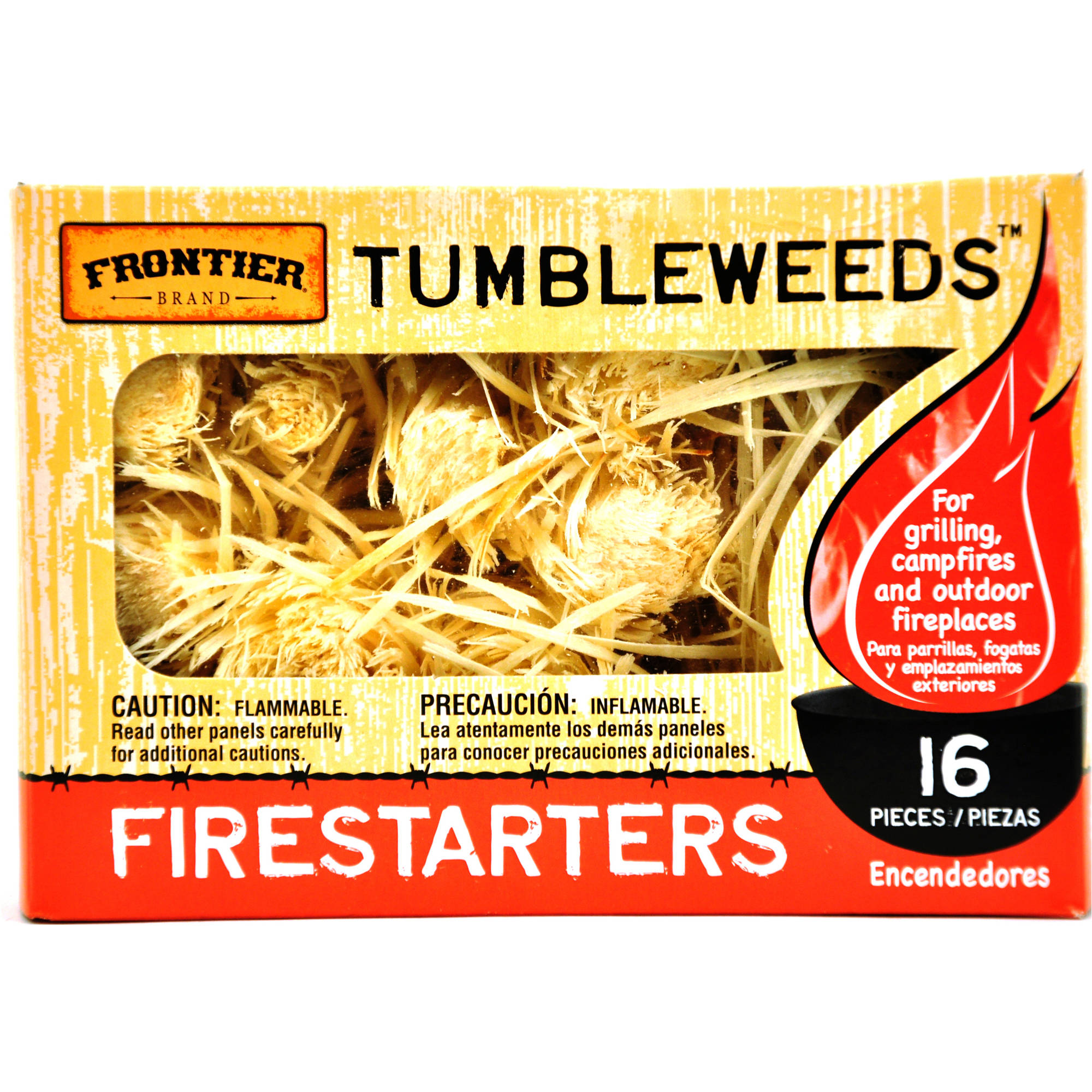 Frontier Tumbleweeds Fire Starters, 16pcs by Royal Oak