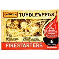 Frontier Tumbleweeds Fire Starters, 16pcs