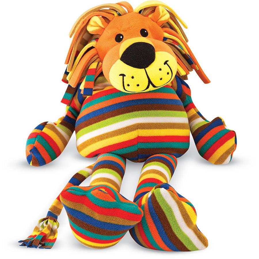 Melissa & Doug Elvis Lion - Patterned Pal Stuffed Animal