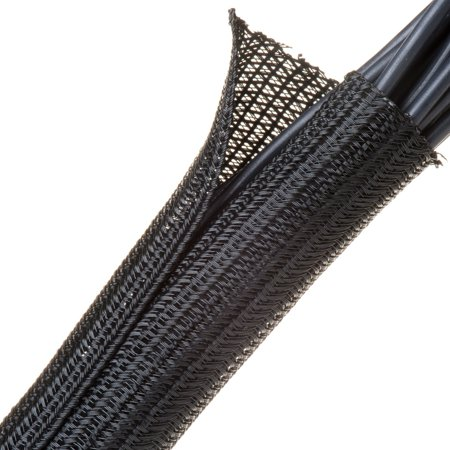 F6 - Self Wrapping Braided Sleeving - 1/2