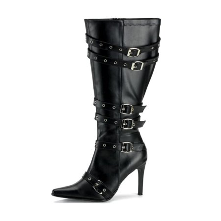 Female Pirate Boots (Spicy-138X Plus Size High Heel Pirate)
