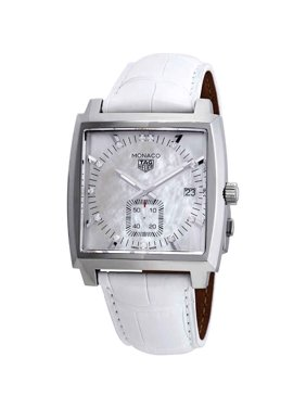Tag Heuer Monaco Mother of Pearl Diamond Dial Men's Watch WAW131B.FC6247