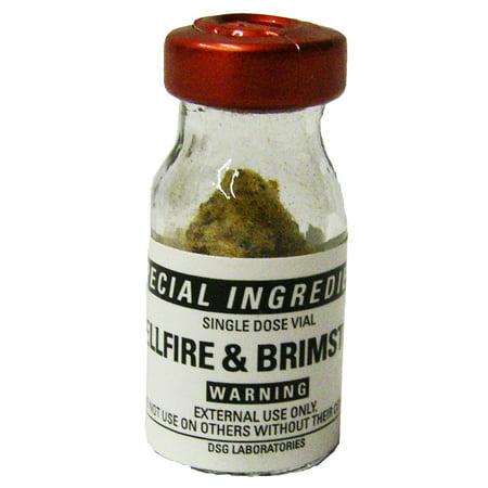 Hellfire Brimstone Itching Powder Prank and Revenge from Special (Best Jock Itch Powder)