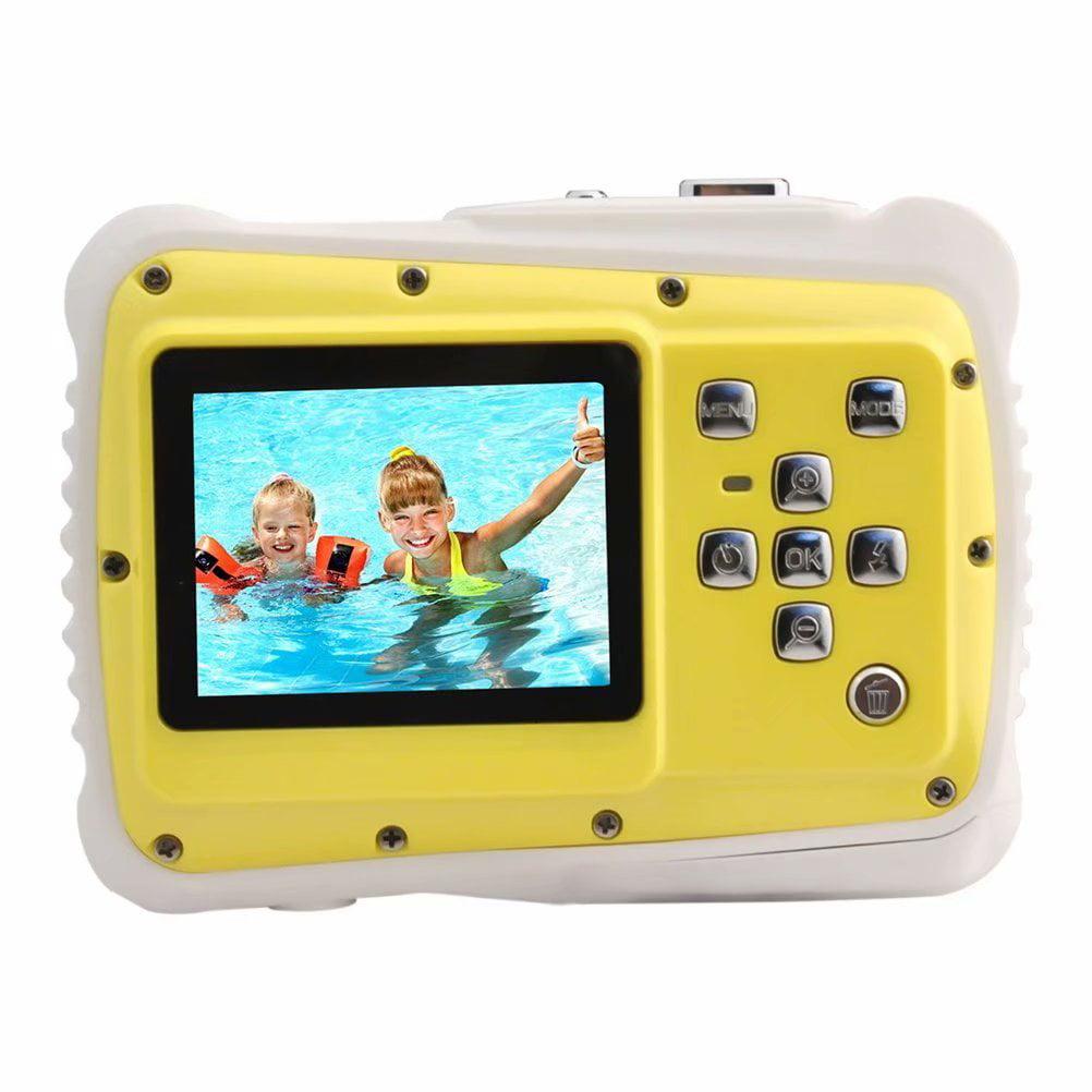 Noroomaknet Children Camera ,Waterproof High Definition Underwater Swimming Digital Camera Camcorder, Digital Action Cameras for Kids