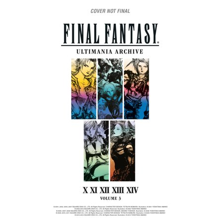Final Fantasy Ultimania Archive Volume 3 - Final Fantasy Halloween Art