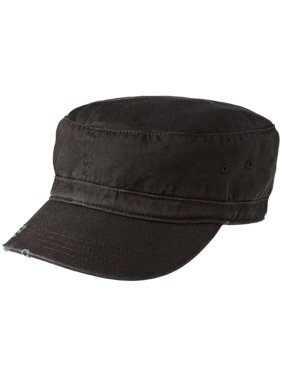 c9b08e3438666d Product Image Mafoose Men's Distressed Military Style Hat Black