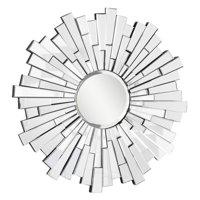 Elegant Furniture & Lighting Modern Wall Mirror - 47.5 diam. in.