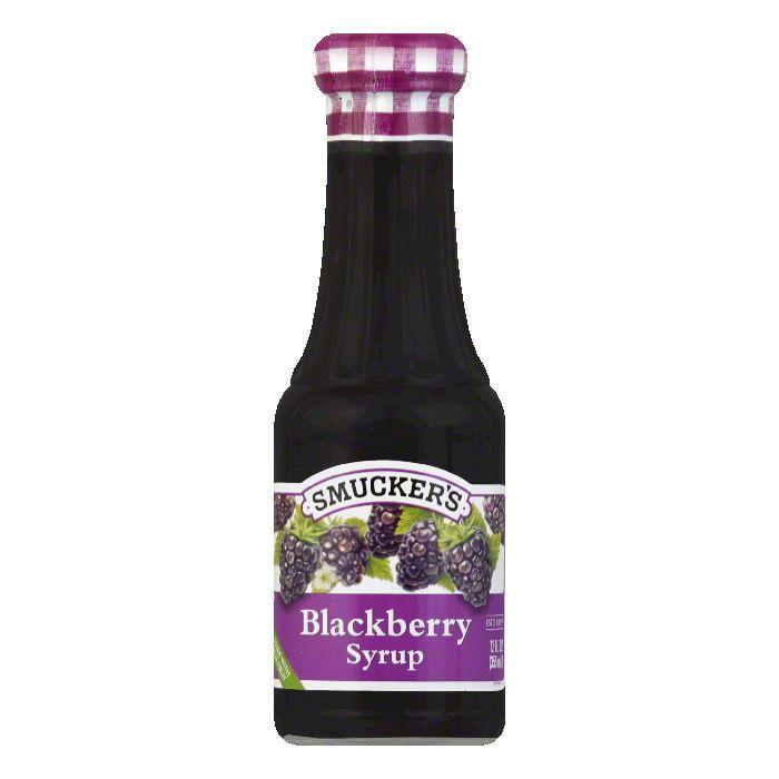 Smucker's Syrup Blackberry, 12 OZ (Pack of 6)