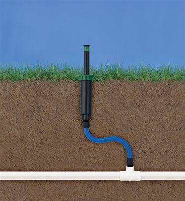 Orbit Sprinkler System 1//2-Inch X 12-Inch Cobra Flexible Pipe Riser 37320