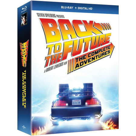 Back to the Future: The Complete Adventures (Blu-ray) - Back To The Future Merchandise