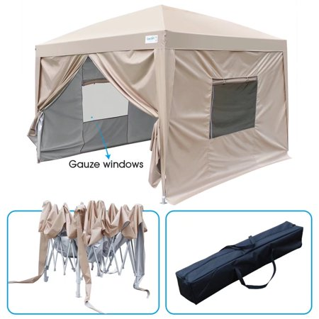 2018 Upgraded Quictent Privacy 10x10 Ez Pop Up Canopy Tent