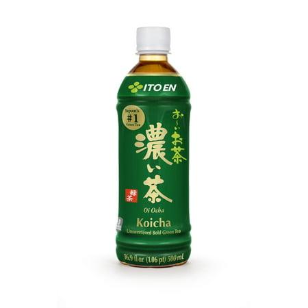 (12 Bottles) Ito En Oi Ocha Unsweetened Bold Green Tea, 16.9 Fluid (Best Bottled Unsweetened Green Tea)