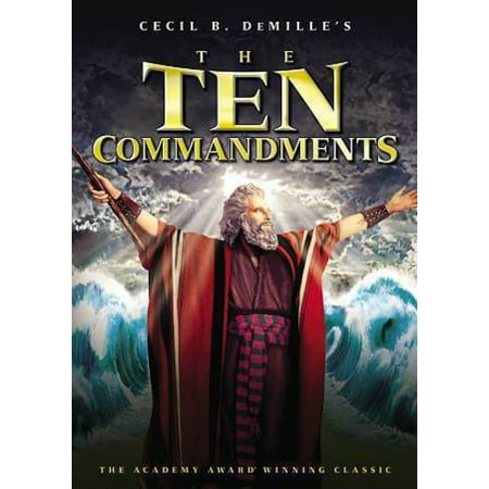 The Ten Commandments (1956) (DVD)](Top 10 Halloween Movies For Tweens)