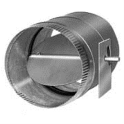 Honeywell D690A1010 8 inch Low-leakage, Single-Blade, Round Damper