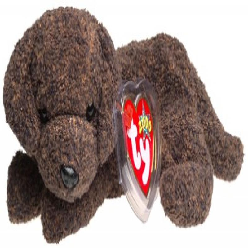 TY Beanie Baby - FETCHER the Dog