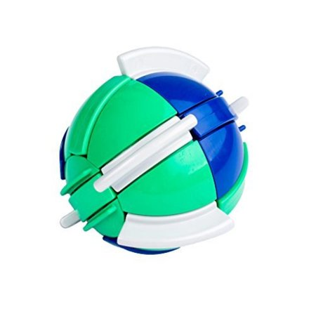 Buzzle Ball - Brain Teaser Twisty Puzzle Ball for Ages 8+ Made in the USA](Halloween Brain Cheese Ball)