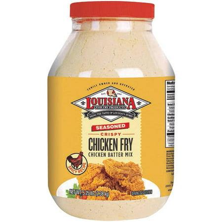 Louisiana Fish Fry Products Seasoned Crispy Chicken Fry Chicken Batter Mix, 84 oz