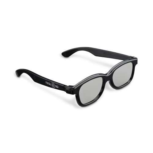 Toshiba Natural (Passive) 3D Glasses 10 Pack - Polarized Optics, Lightweight, Po