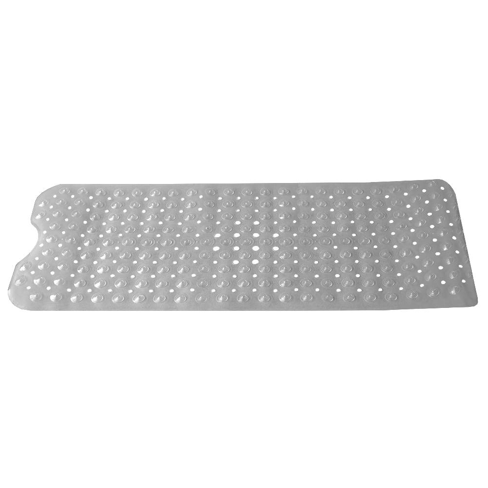 Extra Long Contour U Shape Front Plastic Bath Mat With