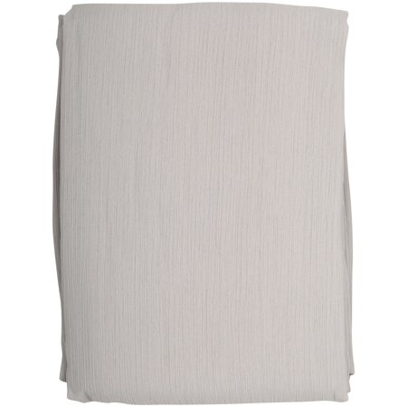 Better Homes & Gardens® Textured Georgette Sheer Panel Soft Silver