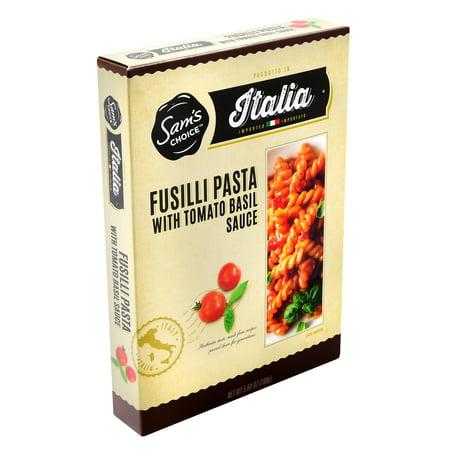 - (8 Pack) Sam's Choice Italia Fusilli with Tomato Basil Sauce Meal Kit, 160G