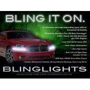 2011-2014 Dodge Charger LED Head Light Strips Kit Day Time Running Lamps