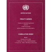 Treaty Series Cumulative Index No.44 United Nations