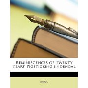 Reminiscences of Twenty Years' Pigsticking in Bengal