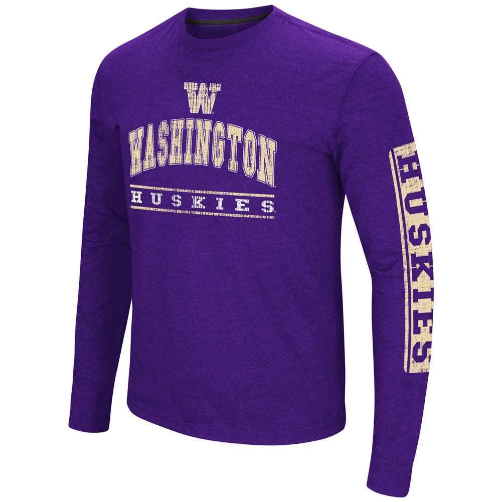 Washington Huskies Colosseum Sky Box L/S T-Shirt - Arch Print