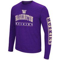 Washington Huskies Colosseum Sky Box L/S T-Shirt - Arch Print