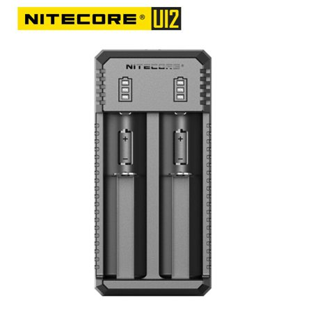 NITECORE UI2 USB Smart Charger Wall Charger 2 Slot for Li-ion IMR 18650 18350 16340 26650 13500 (Best Nitecore 18650 Battery Chargers)