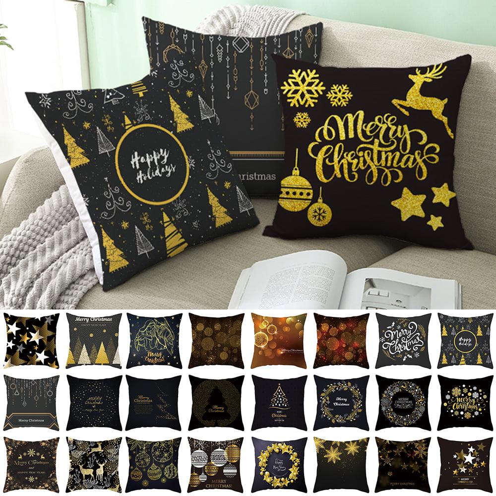 "Plain Neon Yellow Linen Cushion Cover 18x18/"" Contemporary Style Decor"