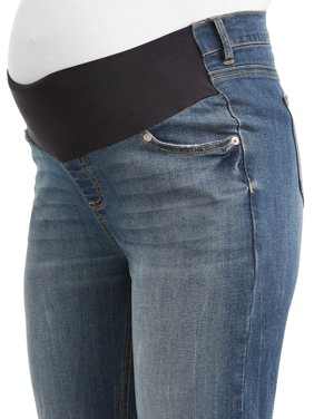 Maternity Time and Tru Skinny Jean with Front Panel