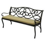 Innova Hearth & Home Deluxe 5 ft. Sunbrella Bench Cushion