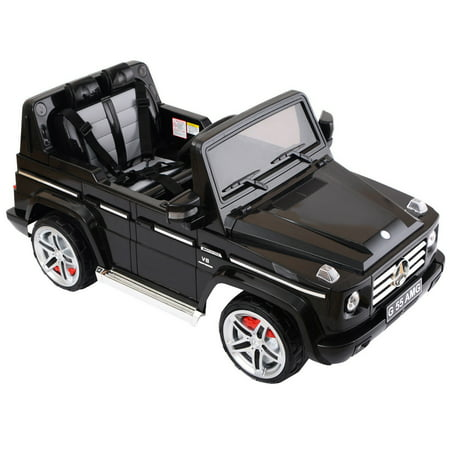 Costway Mercedes Benz G55 12V Electric Kids Ride On Car T...