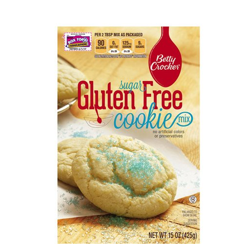 Betty Crocker Gluten Free Sugar Cookie Mix, 15 oz