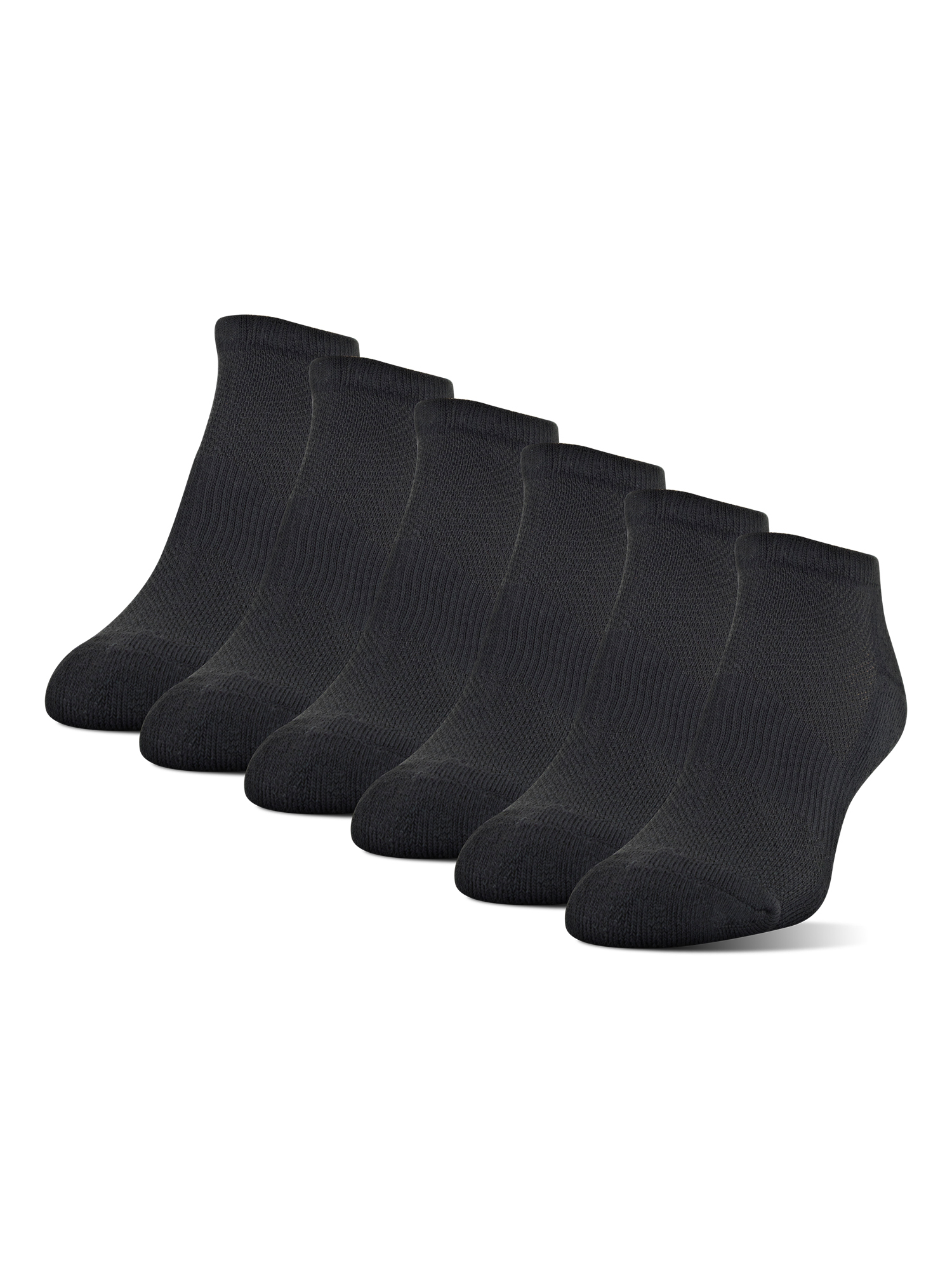 Women's Midcushion No Show Socks, 6 Pairs