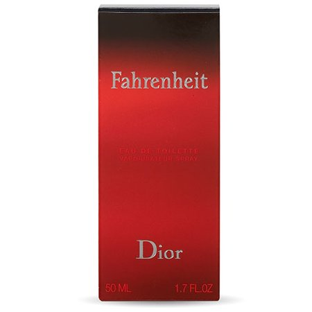 Christian Dior Fahrenheit Eau De Toilette Spray, Cologne for Men, 1.7 Oz