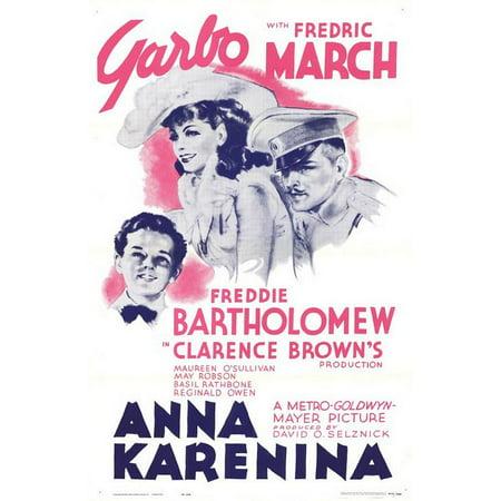 Anna Karenina (1935) Laminated Movie Poster Version 1 Print 24 x
